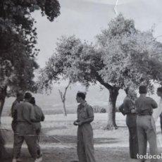 Militaria: FOTOGRAFÍA COMANDANTE DEL EJÉRCITO POPULAR DE LA REPÚBLICA. EL PARDO 1937. Lote 137851190