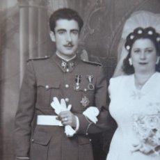 Militaria: FOTOGRAFÍA OFICIAL CASE DEL EJÉRCITO ESPAÑOL. XAUEN 1945. Lote 137934778