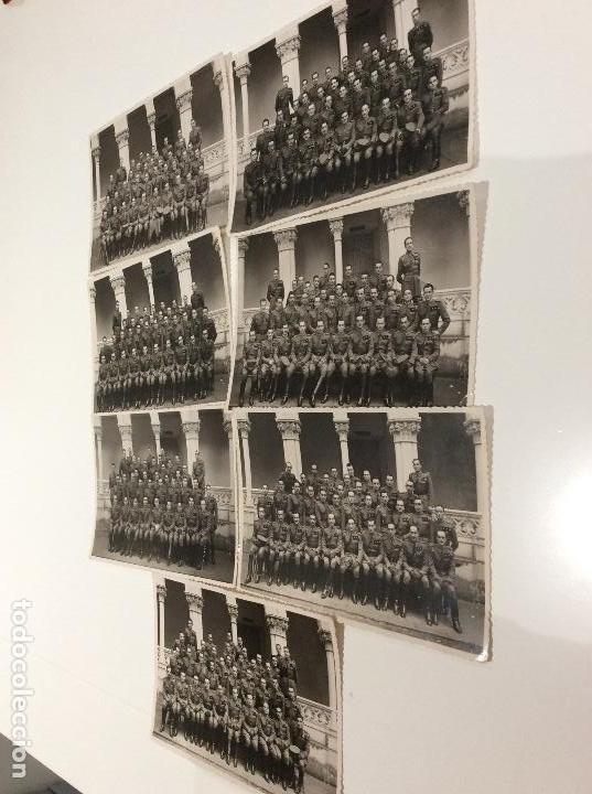 Militaria: Siete fotografias de diferentes promociones de alféreces provisionales. También las vendo sueltas - Foto 3 - 138225886