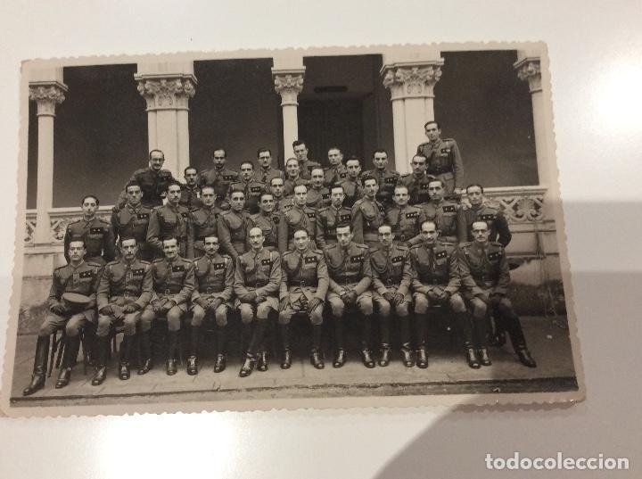 Militaria: Siete fotografias de diferentes promociones de alféreces provisionales. También las vendo sueltas - Foto 4 - 138225886
