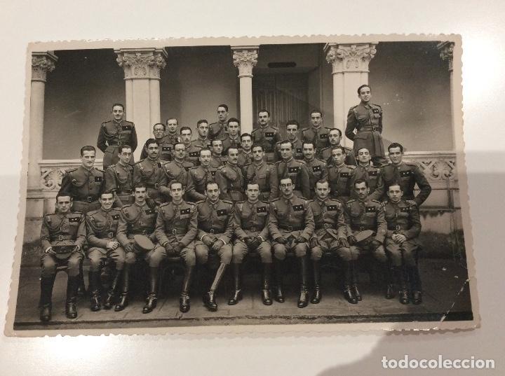 Militaria: Siete fotografias de diferentes promociones de alféreces provisionales. También las vendo sueltas - Foto 6 - 138225886