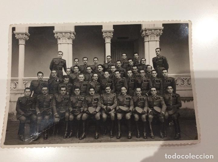 Militaria: Siete fotografias de diferentes promociones de alféreces provisionales. También las vendo sueltas - Foto 7 - 138225886