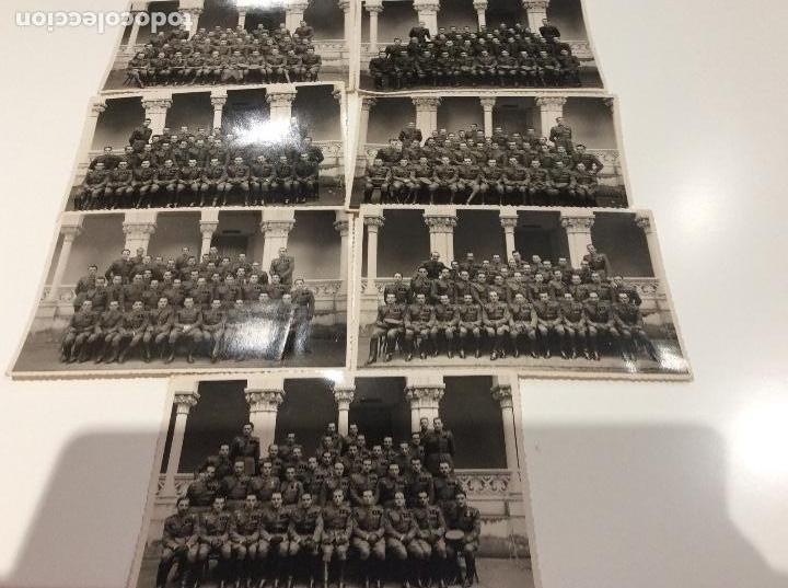 Militaria: Siete fotografias de diferentes promociones de alféreces provisionales. También las vendo sueltas - Foto 10 - 138225886