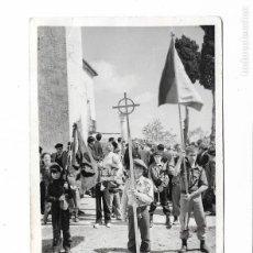 Militaria: FOTOGRAFIA ORIGINAL TERCIO DE LOS DESAMPARADOS. JUVENTUDES CARLISTAS . 13X9CM. Lote 138533798