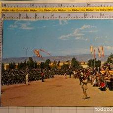 Militaria: POSTAL MILITAR. AÑO 1975. CUARTEL CIR 6 VIATOR ALMERIA DESFILE JURA DE BANDERA. 475. Lote 138618886