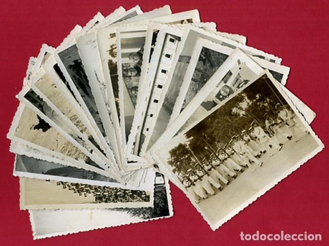 LOTE 12 FOTOS FOTOGRAFIAS MILITARES , MARINEROS , MARINA DE CARTAGENA, MARINERIA, ORIGINALES, BL2 (Militar - Fotografía Militar - Otros)