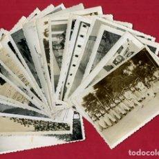 Militaria: LOTE 12 FOTOS FOTOGRAFIAS MILITARES , MARINEROS , MARINA DE CARTAGENA, MARINERIA, ORIGINALES, BL2. Lote 138658474
