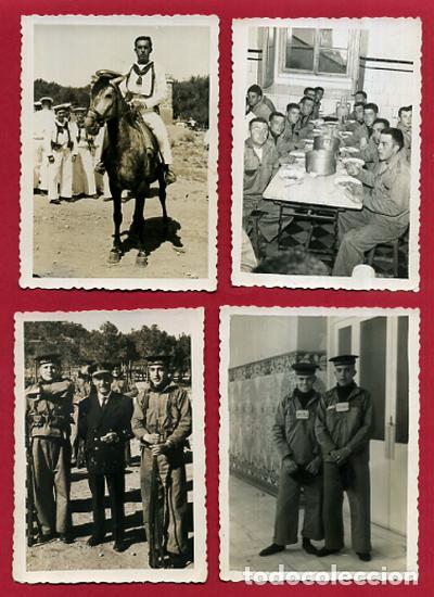 Militaria: LOTE 12 FOTOS FOTOGRAFIAS MILITARES , MARINEROS , MARINA DE CARTAGENA, MARINERIA, ORIGINALES, BL2 - Foto 5 - 138658474
