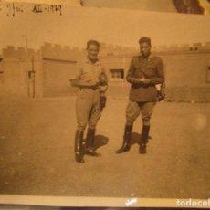 Militaria: OFICIALES TENIENTE RAMON DRONDO Y SALAZAR LEGION EN SIDI IFNI 1939 XII RECIEN TERMINADA GUERRA CIVIL. Lote 138728766