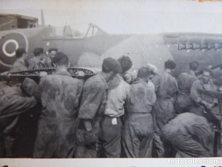 Fotografía avión Hawker Hurricane  RAF