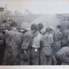 Militaria: FOTOGRAFÍA AVIÓN SPITFIRE. RAF. Lote 138992174