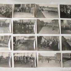 Militaria: 16 FOTOGRAFÍAS TAMAÑO POSTAL. VISITA DE PRIMO DE RIVERA A LA ACADEMIA DE CABALLERÍA DE VALLADOLID. Lote 139049814