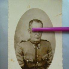 Militaria: GUERRA CIVIL : FOTO DE GUARDIA CIVIL DE LA REPUBLICA ZONA NACIONAL, 1938 . DE ALLOZA, HUELVA. Lote 139297958