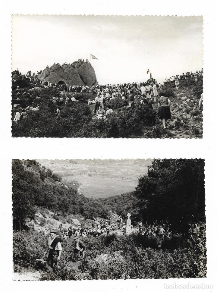 ANTIGUA FOTOGRAFIA CONCENTRACION CARLISMO - CARLISTAS - LOTE DE 2 FOTOS (Militar - Fotografía Militar - Otros)