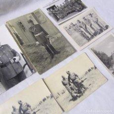Militaria: 7 FOTOGRAFÍAS MILITARES AÑOS 60. Lote 139332402