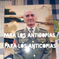 Militaria: FOTOGRAFIA O FOTO DEL GENERAL JEFE DE LA DIVISION ACORAZADA N° 1 DE BRUNETE. Lote 139368686