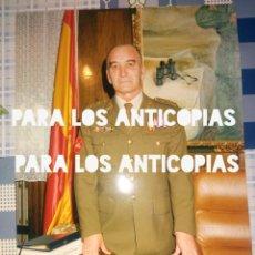 Militaria: FOTOGRAFIA O FOTO DEL GENERAL JEFE DE LA DIVISION ACORAZADA BRUNETE N° 1. Lote 139368810