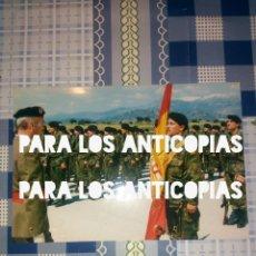 Militaria: FOTOGRAFIA O FOTO DEL GENERAL JEFE DE LA DIVISION ACORAZADA DE BRUNETE N°1 JURA BANDERA. Lote 139368902