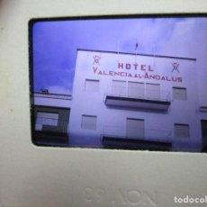 Militaria: DIAPOSITIVA INEDITA ORIGINAL ANTIGUO HOTEL MILITAR VALENCIA AL ANDALUS . Lote 139378942