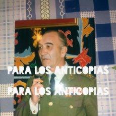 Militaria: FOTOGRAFIA O FOTO DEL GENERAL JEFE DE LA DIVISION ACORAZADA DE BRUNETE N°1 . Lote 139429518