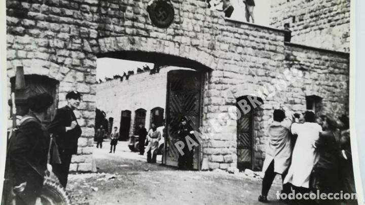 Militaria: FRANCISCO BOIX LIBERACIÓN DE MAUTHAUSEN GELATINA DE PLATA 18 x 24 EXILIADO GUERRA CIVIL - Foto 3 - 139645050