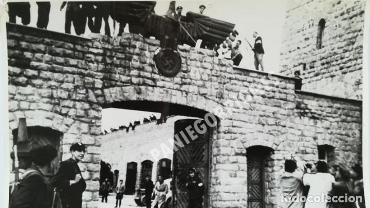 Militaria: FRANCISCO BOIX LIBERACIÓN DE MAUTHAUSEN GELATINA DE PLATA 18 x 24 EXILIADO GUERRA CIVIL - Foto 4 - 139645050