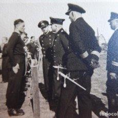 Militaria: FOTOGRAFÍA MARINEROS ALEMANES. KRIEGSMARINE 1942. Lote 139666986