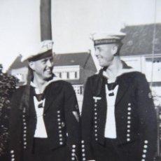 Militaria: FOTOGRAFÍA MARINEROS ALEMANES. KRIEGSMARINE. Lote 139674890
