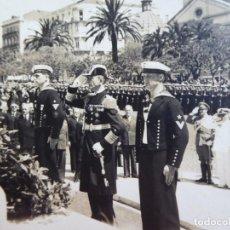 Militaria: FOTOGRAFÍA MARINEROS ALEMANES KRIESGMARINE. ADMIRAL GRAF SPEE LISBOA ALMIRANTE BOEHM. Lote 139675198