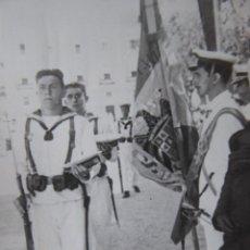 Militaria: FOTOGRAFÍA MARINERO MILICIA NAVAL UNIVERSITARIA. ESCUELA SUBOFICIALES ARMADA CÁDIZ. Lote 139748826