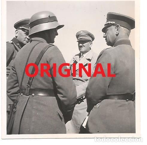 HITLER JUNTO A VON BLOMBERG EN SEPTIEMBRE DE 1933 (Militar - Fotografía Militar - II Guerra Mundial)