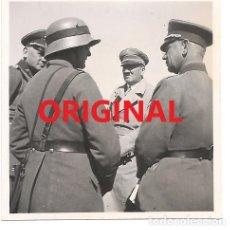 Militaria: HITLER JUNTO A VON BLOMBERG EN SEPTIEMBRE DE 1933. Lote 139753426