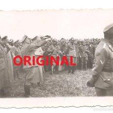 Militaria: HITLER JUNTO A KEITEL Y VON KLUGE EN EL FRENTE OCCIDENTAL. Lote 139753670