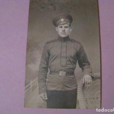 Militaria: FOTO DE UN MILITAR DEL IMPERIO RUSO. PRIMERA GUERRA MUNDIAL. 13,5X8,5 CM.. Lote 139762598