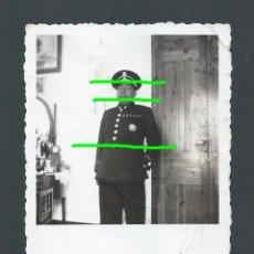 Militaria: PEQUEÑA FOTOGRAFÍA. MILITAR CONDECORADO. FOTÓGRAFO DESCONOCIDO.. Lote 139963458