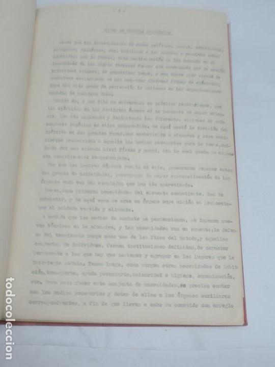 Militaria: ANTIGUO ALBUM DE AVIACION DE FOTOGRAFIAS CON ESTUDIO DE LOS PROBLEMAS DE LA INTENDENCIA DEL AIRE 19 - Foto 3 - 139965870