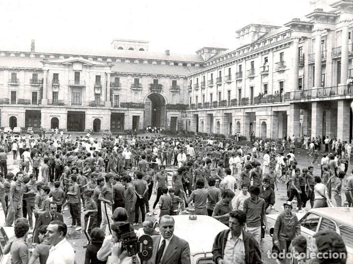 Militaria: 14 FOTOGRAFÍAS CAMPAMENTOS DE LA OJE. ORGANIZACIÓN JUVENIL ESPAÑOLA. VARIAS ACTIVIDADES.- 24 X 18 CM - Foto 6 - 140238190