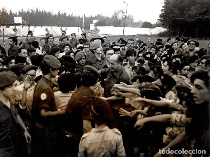 Militaria: 14 FOTOGRAFÍAS CAMPAMENTOS DE LA OJE. ORGANIZACIÓN JUVENIL ESPAÑOLA. VARIAS ACTIVIDADES.- 24 X 18 CM - Foto 12 - 140238190