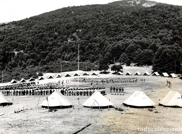 Militaria: 14 FOTOGRAFÍAS CAMPAMENTOS DE LA OJE. ORGANIZACIÓN JUVENIL ESPAÑOLA. VARIAS ACTIVIDADES.- 24 X 18 CM - Foto 13 - 140238190