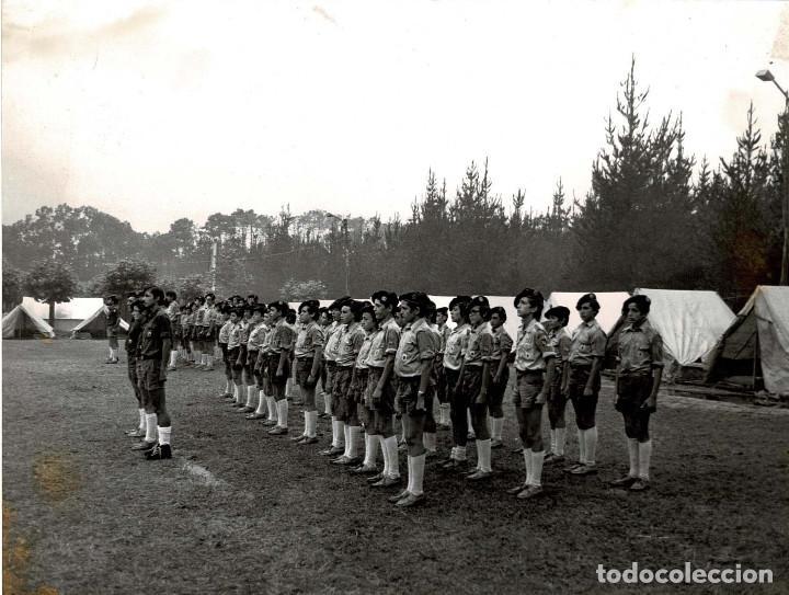 Militaria: 14 FOTOGRAFÍAS CAMPAMENTOS DE LA OJE. ORGANIZACIÓN JUVENIL ESPAÑOLA. VARIAS ACTIVIDADES.- 24 X 18 CM - Foto 15 - 140238190