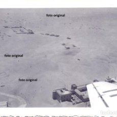 Militaria: AERODROMO DE SALAMANCA?? FOTO AEREA DESDE JU-52 LEGION CONDOR GUERRA CIVIL. Lote 140294334