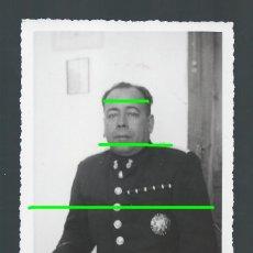 Militaria: RETRATO. MILITAR CONDECORADO. MURCIA. FOTÓGRAFO DESCONOCIDO.. Lote 140340002