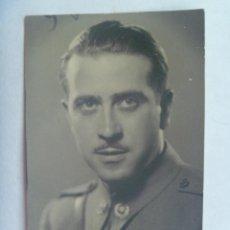 Militaria: GUERRA CIVIL : FOTO DE TENIENTE PROVISIONAL DE INTENDENCIA . SEVILLA, 1939. Lote 140442286