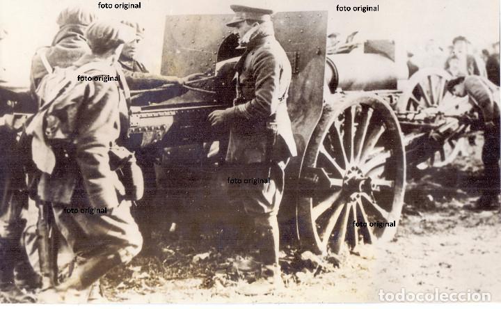 CAÑONES CONTRA REBELION DE JACA(HUESCA) 1930 GALAN Y GARCIA HERNANDEZ PRE GUERRA CIVIL (Militar - Fotografía Militar - Guerra Civil Española)