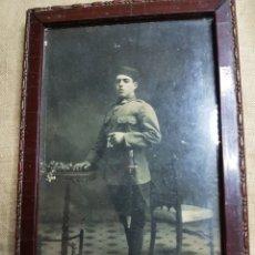 Militaria: ANTIGUA FOTO FOTOGRAFIA GUERRA CUBA SOLDADO 44 REGIMIENTO. Lote 140539876