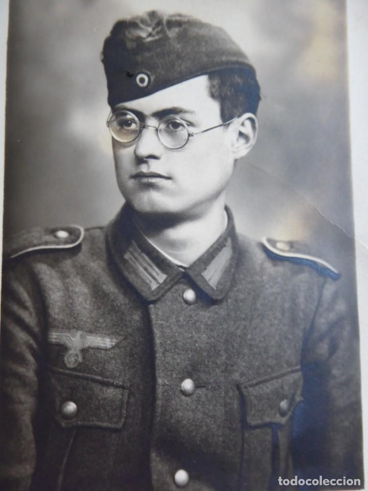 FOTOGRAFÍA SOLDADO DEL EJÉRCITO ALEMÁN. WEHRMACHT (Militar - Fotografía Militar - II Guerra Mundial)