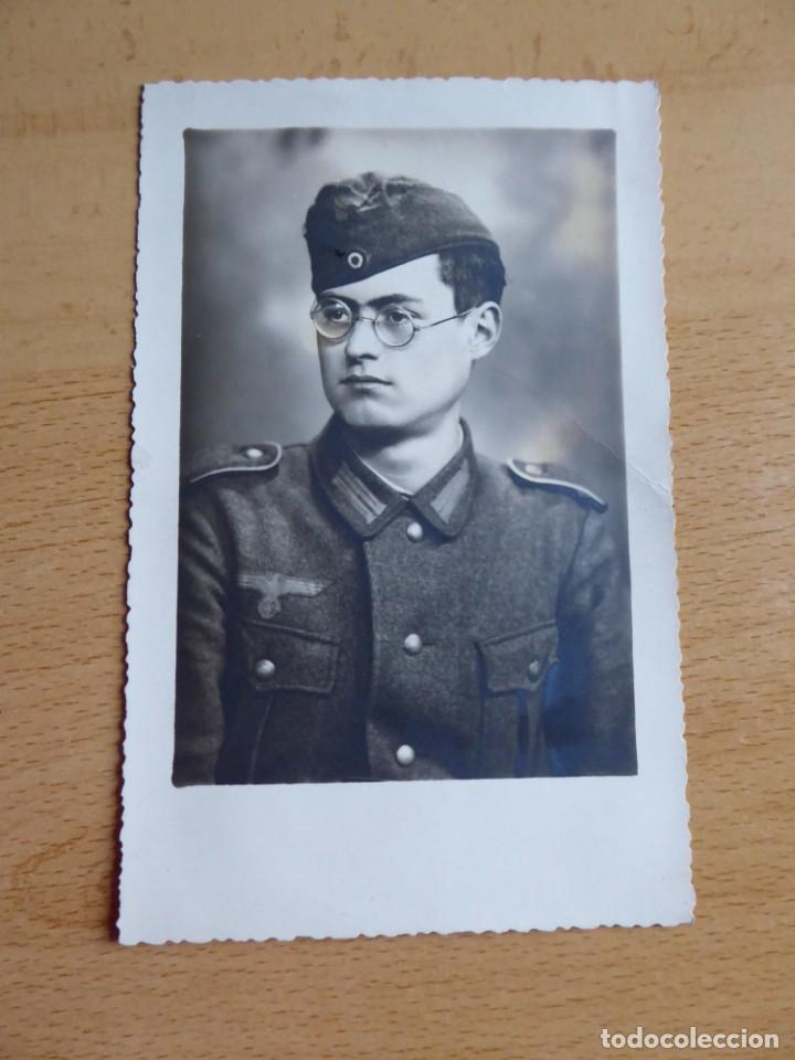 Militaria: Fotografía soldado del ejército alemán. Wehrmacht - Foto 2 - 140543434