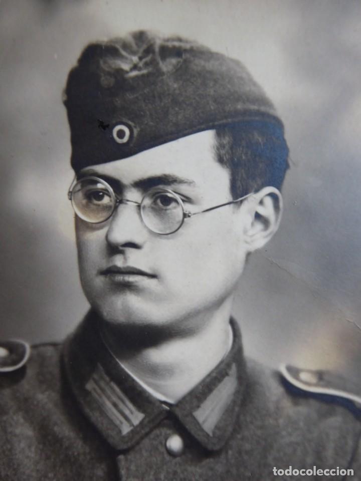 Militaria: Fotografía soldado del ejército alemán. Wehrmacht - Foto 3 - 140543434