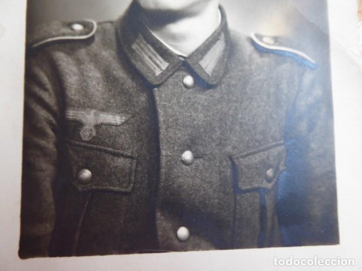 Militaria: Fotografía soldado del ejército alemán. Wehrmacht - Foto 4 - 140543434