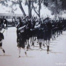 Militaria: FOTOGRAFÍA NIÑOS FALANGISTAS. ALGECIRAS 1938. Lote 140544886
